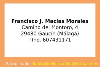 Francisco J. Macías Morales