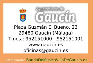 Ayuntamiento de Gaucín (Málaga)